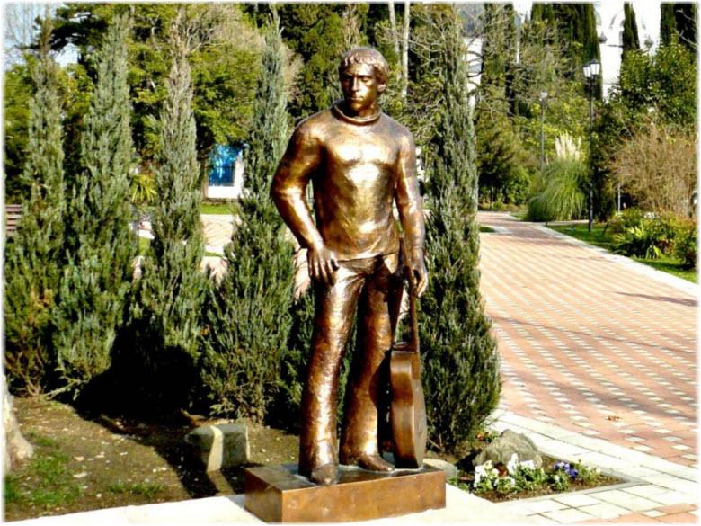фото памятника Владимиру Высоцкому