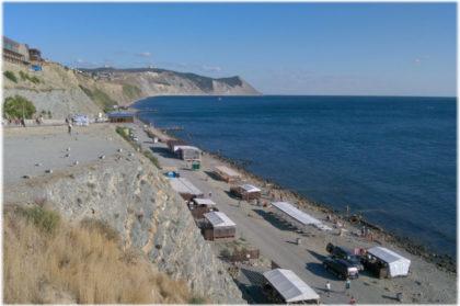 Пляж 40 лет Победы в Анапе