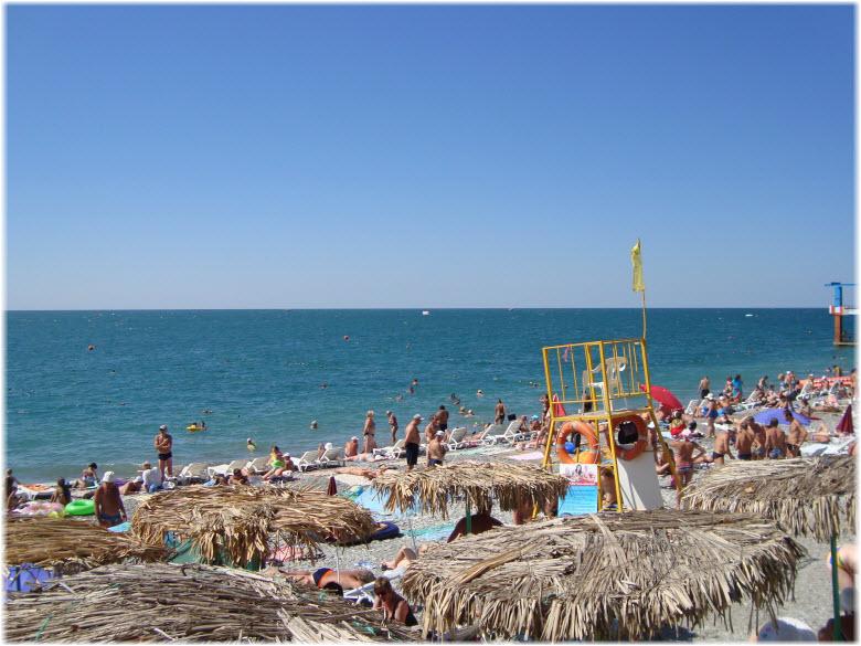 фото Лазурного пляжа