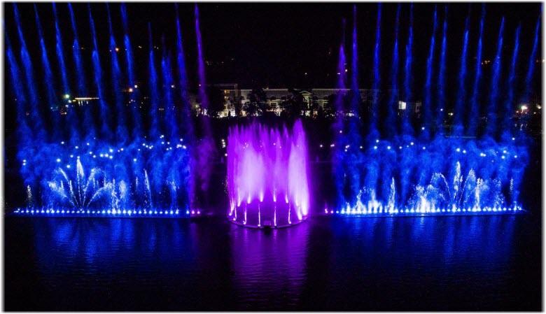фото музыкальных фонтанов с высоты