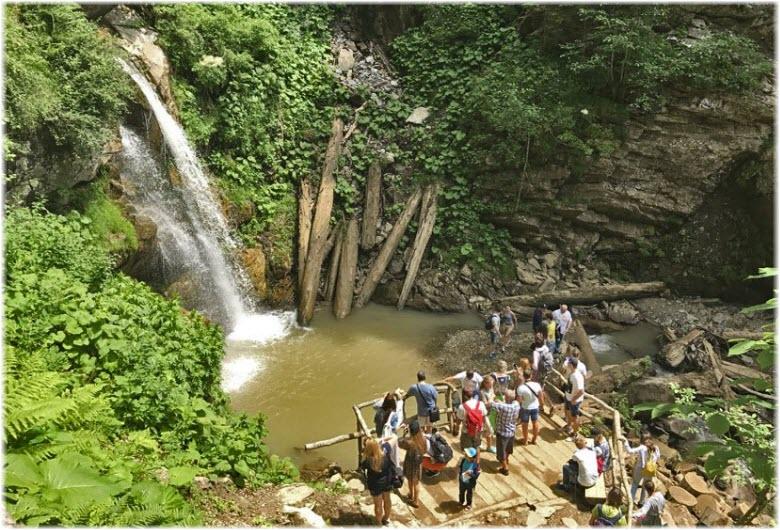 фото водопада Чара