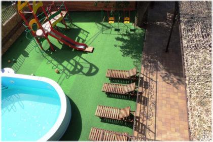 гостевые дома Джемете с бассейнами
