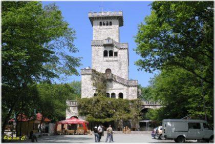 смотровая башня на горе Большой Ахун