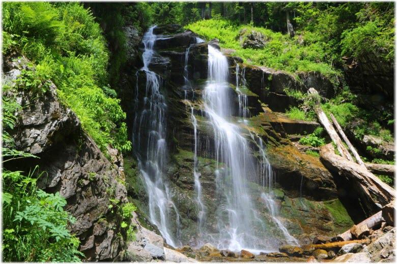 водопады Менделиха