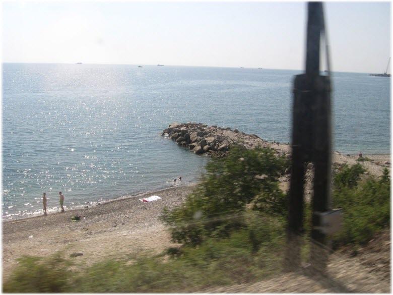 дикий пляж Горка