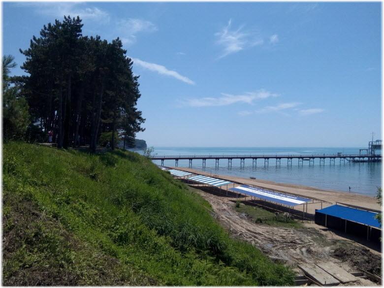 фото пляжа Орленок