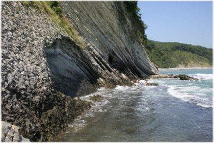 дикие пляжи Туапсе