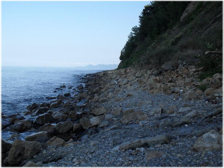 пляж на мысе Кадош