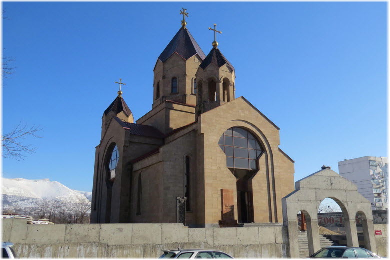 Церковь Григория Просветителя в Новороссийске