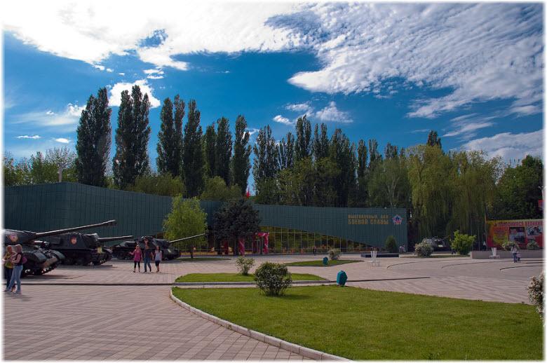 выставочный зал Боевой славы
