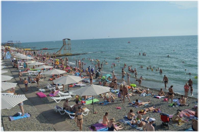 фото Чкаловского пляжа