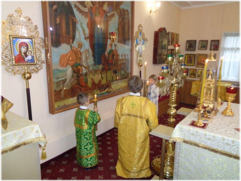 фото храмового иконостаса