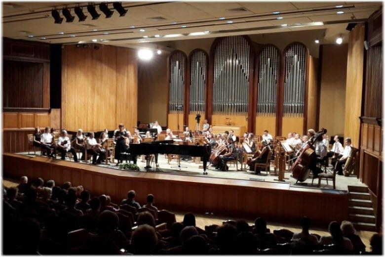 Зал органной камерной музыки в Сочи