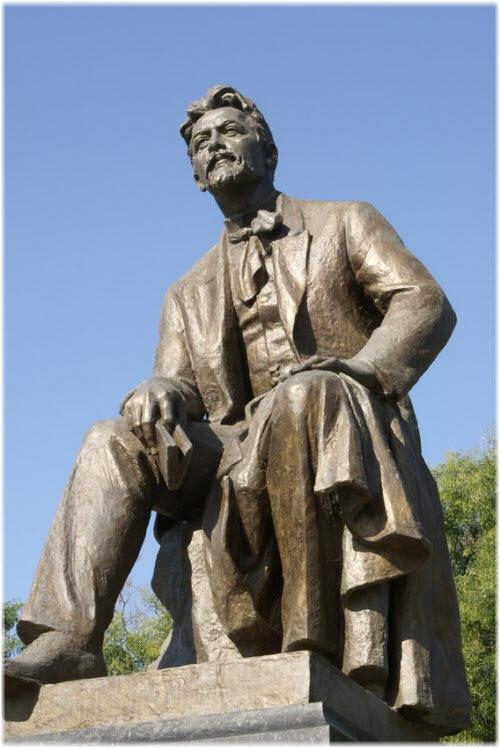 фото памятника А.П. Чехову