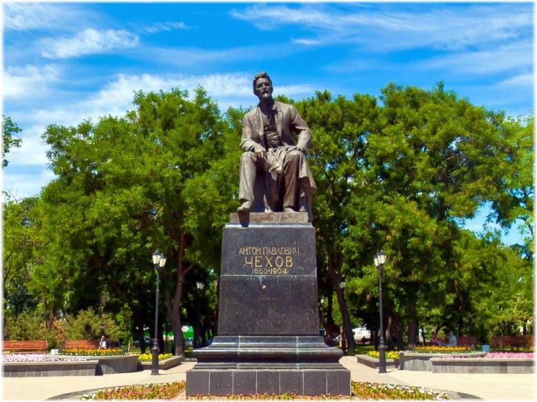 фото памятника Чехову