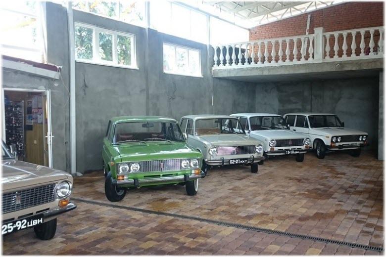 Музей ретро-автомобилей в Краснодаре