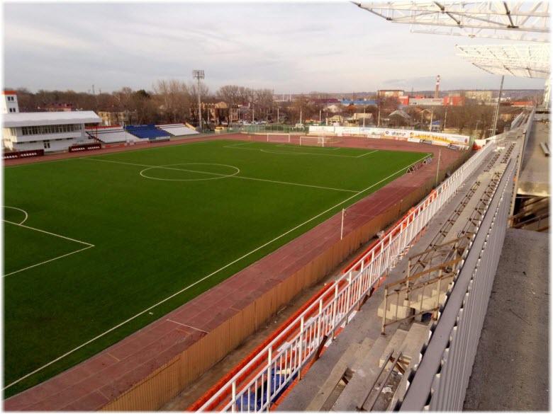 реконструкция стадиона Юность