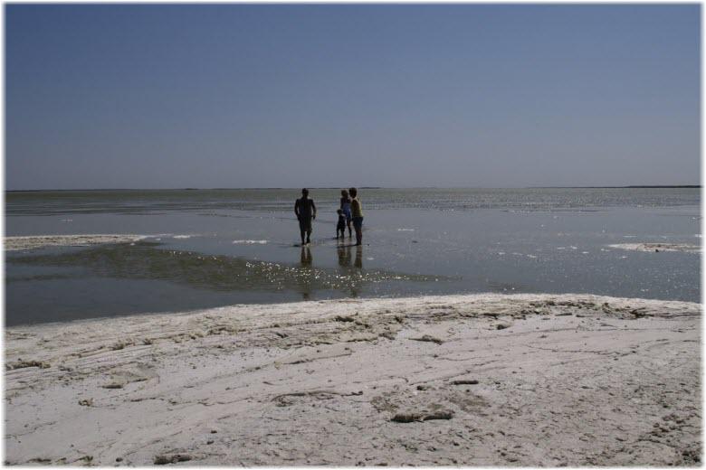ханское озеро в ейске