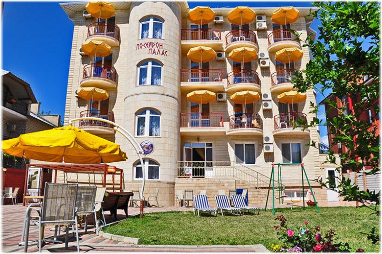 отель посейдон палас витязево анапа