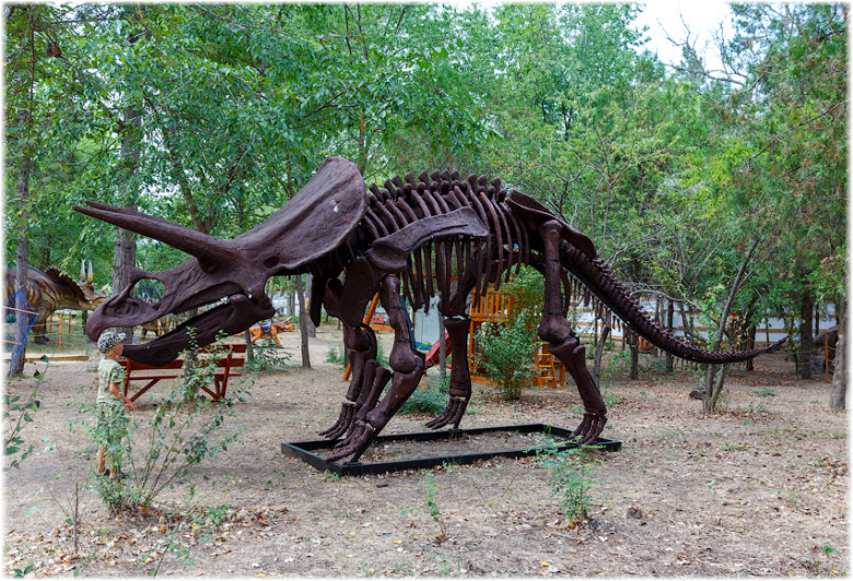 парк динозавров в анапе