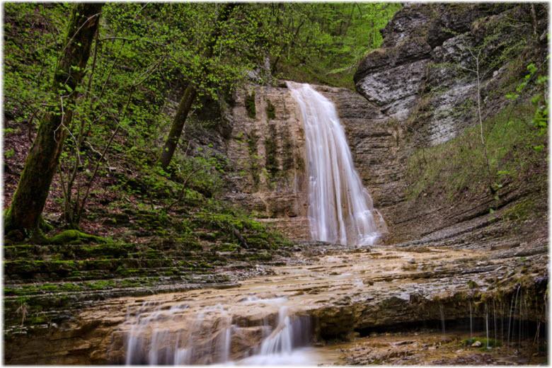 полковничьи водопады в джубге