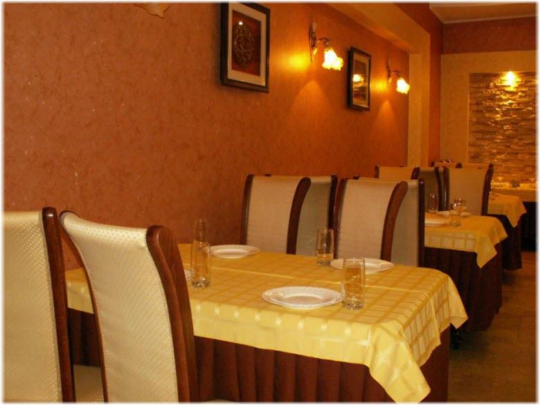 Кафе гостиницы Ника