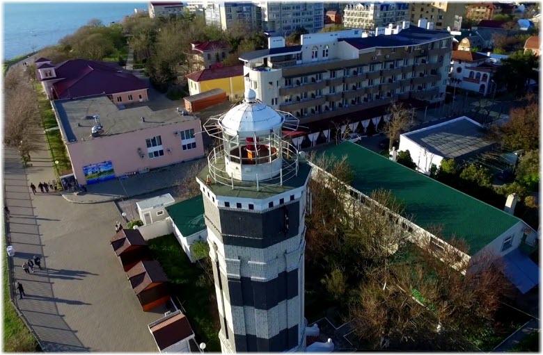 маяк в анапе фото