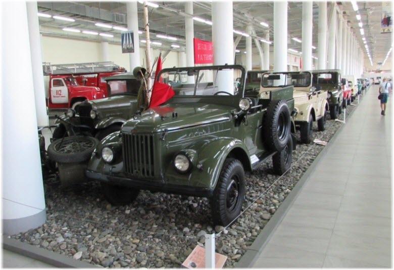 музей ретро автомобилей адлер фото