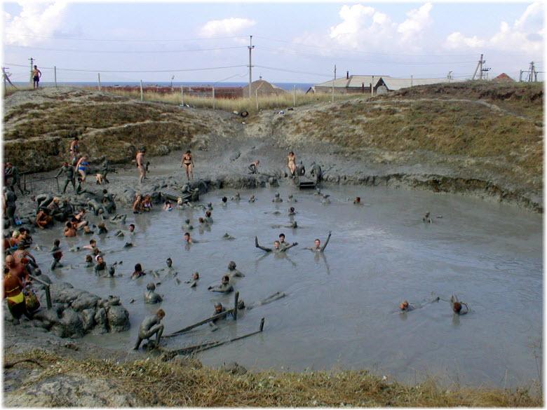 станица голубицкая грязевой вулкан