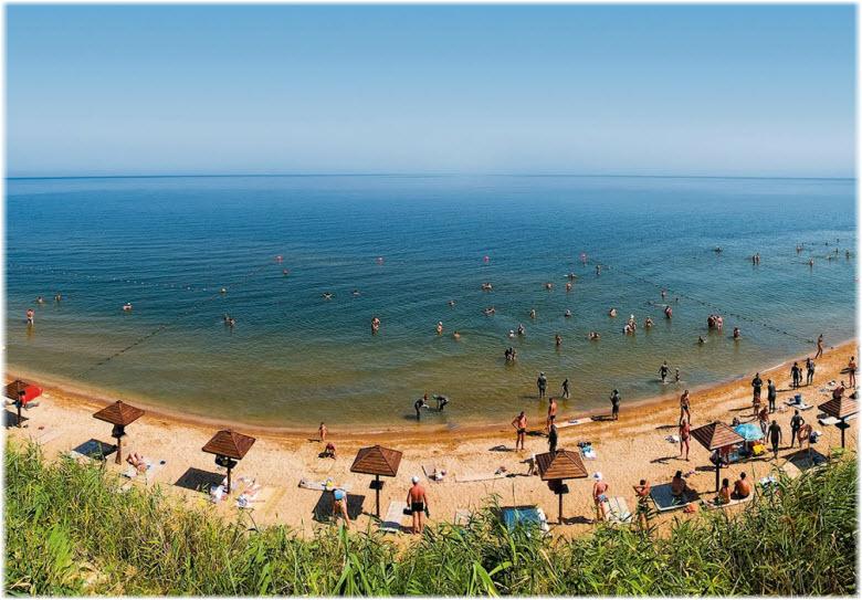 тамань пляжи фото с детьми