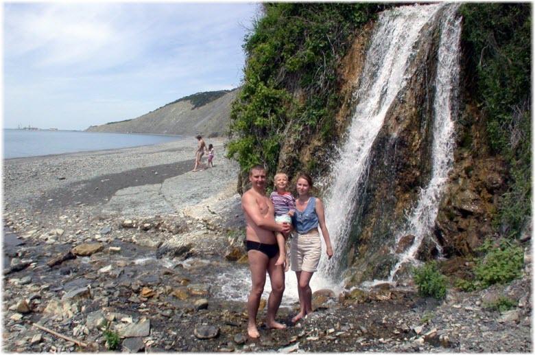 водопад жемчужный фото