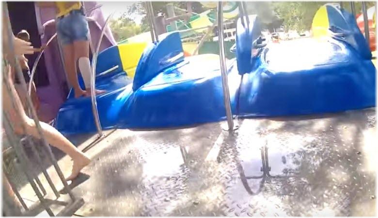 Горки в аквапарке Кабардинки