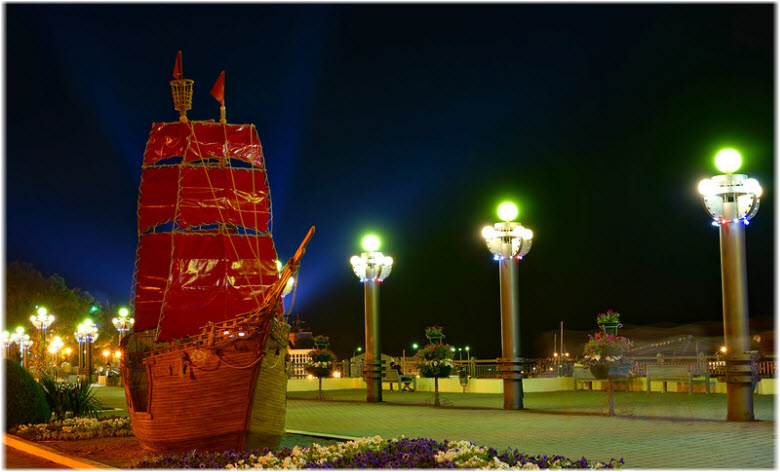 Кораблик «Алые паруса»