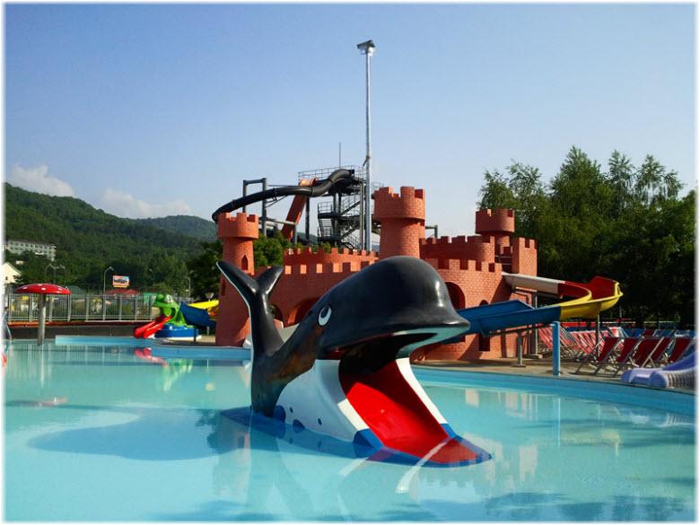 Отдых с детьми в аквапарке «Дельфин»