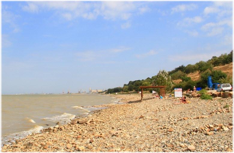 Пляж гостиницы «Виста»