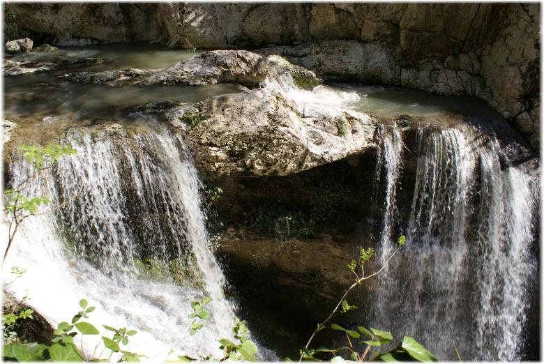 Водопады ущелья Агуры