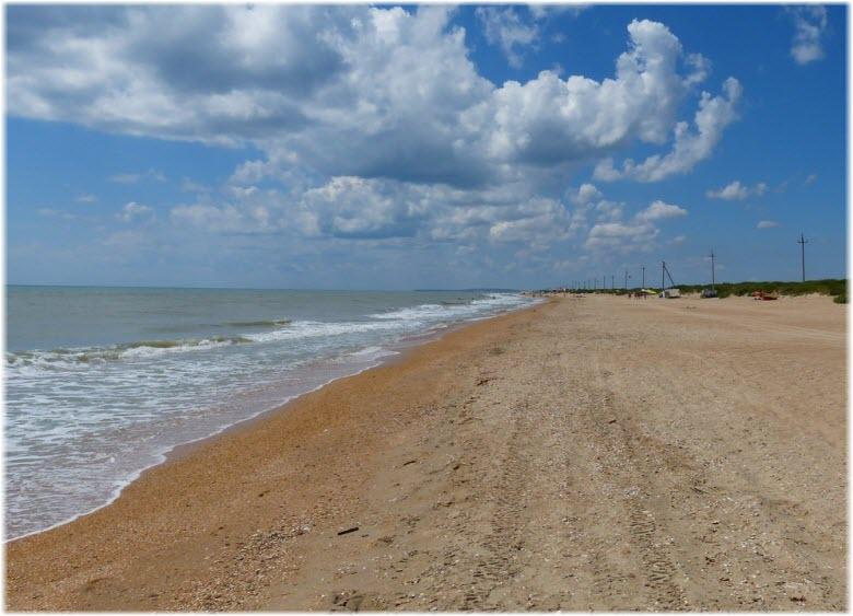 пляж Бугазская коса