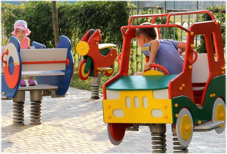 детская площадка Селены
