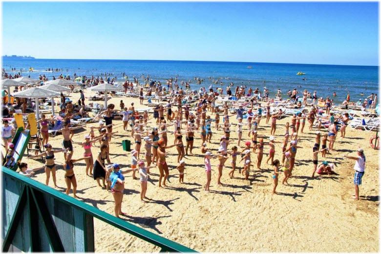 пляж Селены