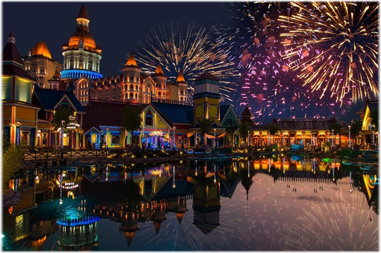 Новый год в Сочи-парке
