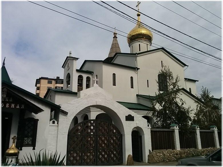 Храм Серафима Саровского в Анапе