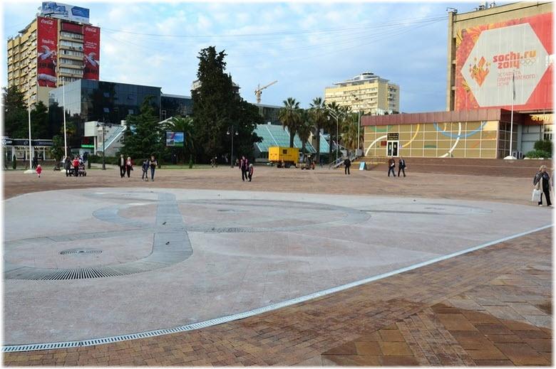 площадь Флага в Сочи
