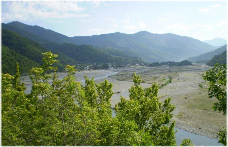 река Шахе в Головинке