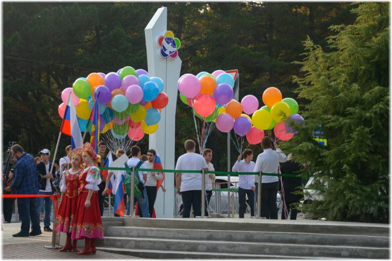 сквер Фестивальный в Сочи
