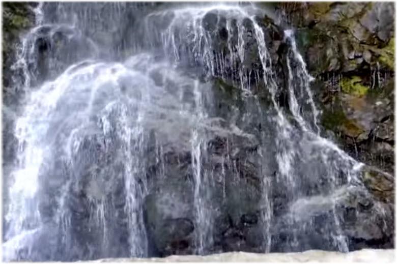 водопад Девичьи слезы в Сочи