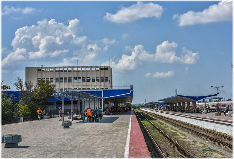 Железнодороный вокзала Анапы