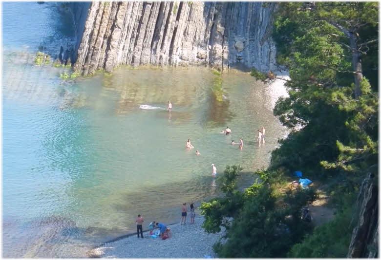 дикие пляжи Кадоша