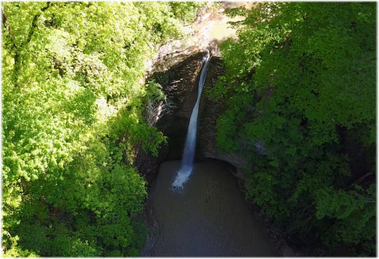 фото водопада на реке Белая
