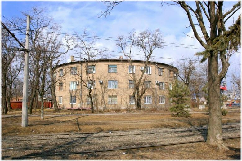 Круглый дом в Таганроге