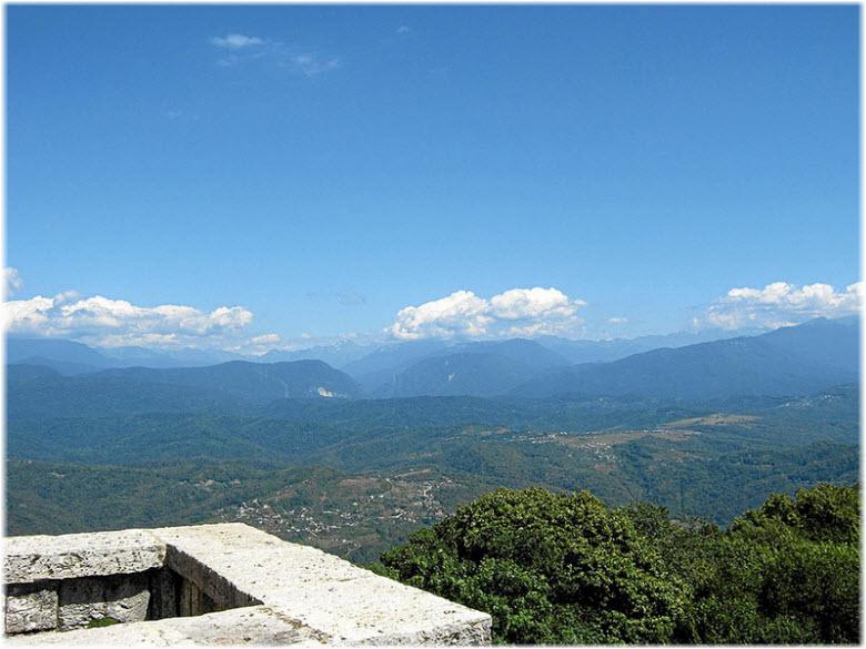 окрестности горы Ахун